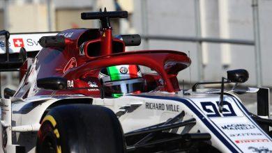 Giovinazzi Alfa Romeo Racing