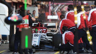 Testing Alfa Romeo Test Barcelona
