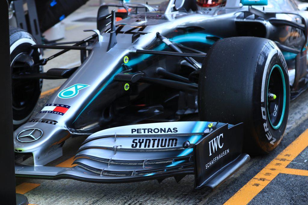Mercedes Testing Barcelona