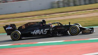 Haas Magnussen Barcelona Circuit de Barcelona-Catalunya