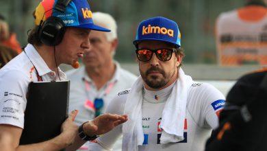 McLaren F1 Alonso testing