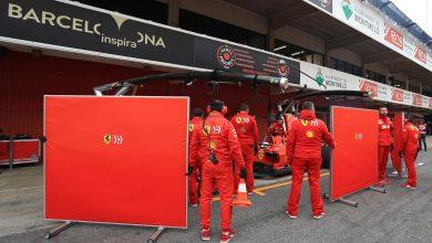 Vettel Ferrari crash