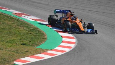 McLaren Sainz testing Formula 1
