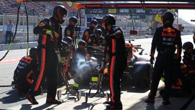 Verstappen Red Bull testing