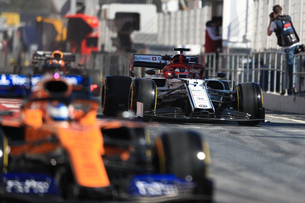 Live F1 Testing blog results