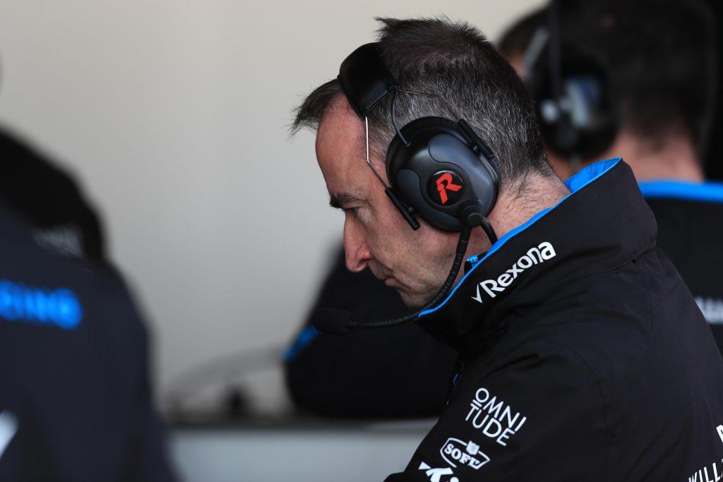 Paddy Lowe Williams Barcelona Testing