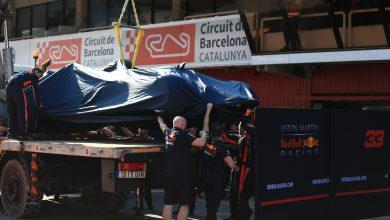Red Bull Racing Horner testing