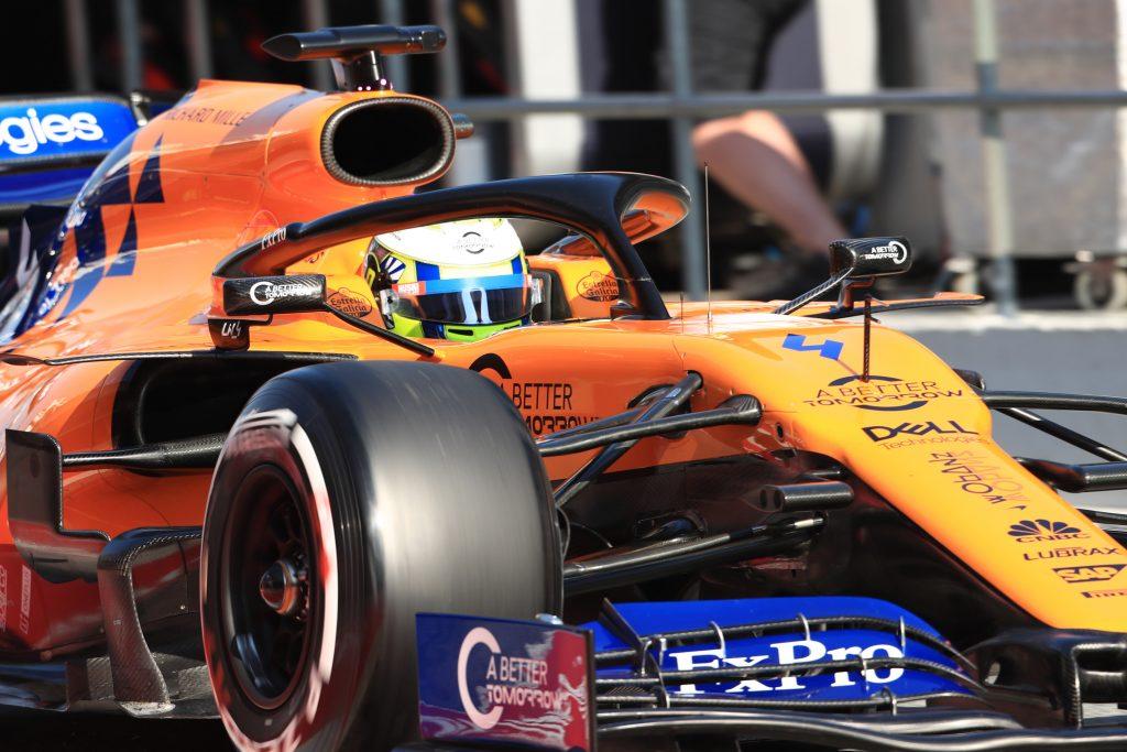 McLaren testing Norris