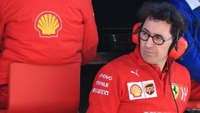 Mattia Binotto Ferrari Testing