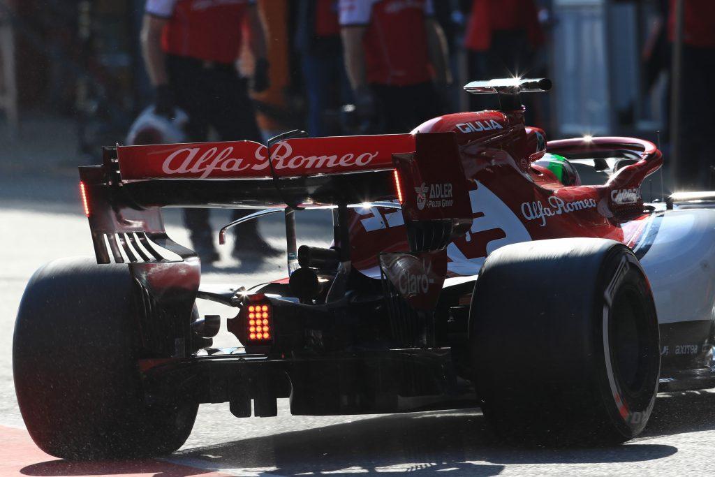 Alfa Romeo F1 Barcelona Gearbox