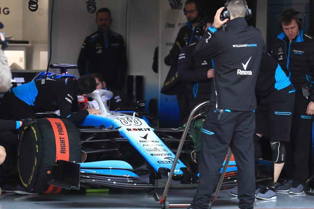 Williams F1 Barcelona Testing