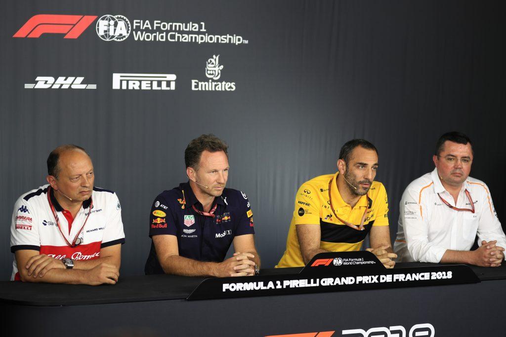 Abiteboul Horner Renault Red Bull
