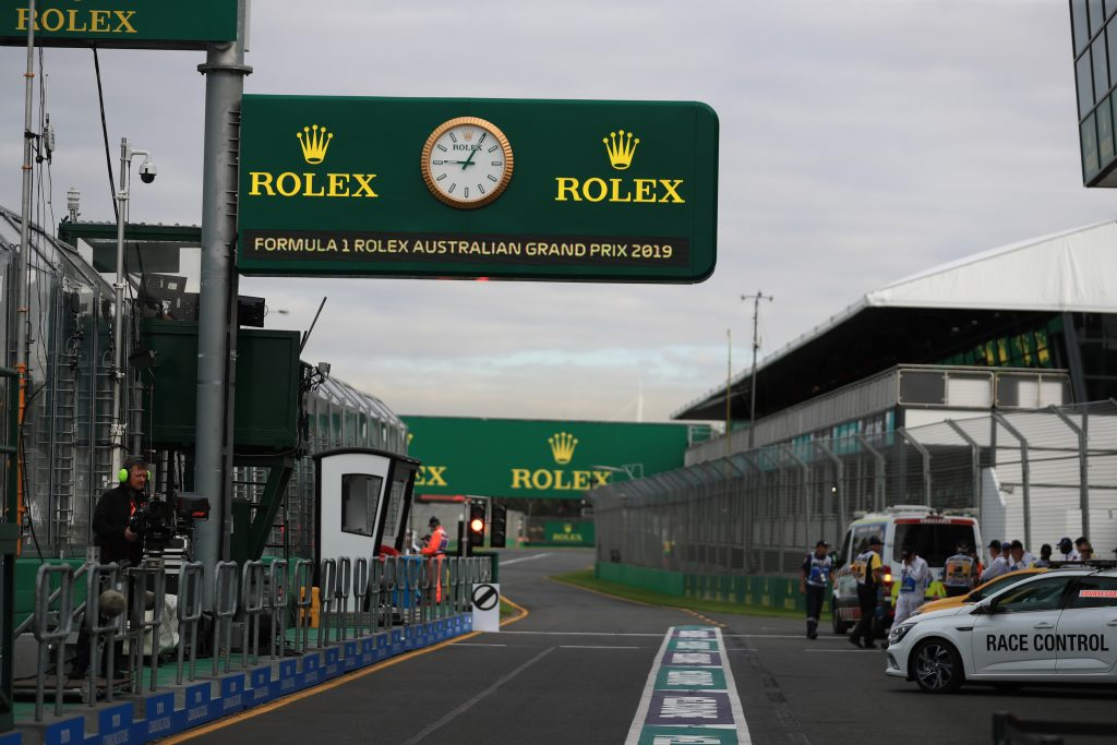 Starting Grid - 2019 Australian GP - FormulaSpy com