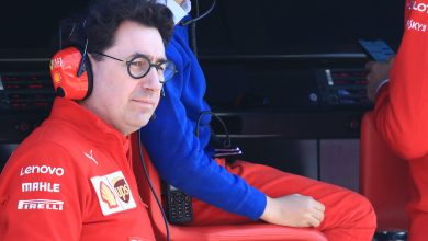 Ferrari Vettel testing