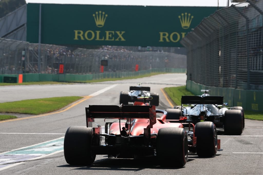 Australian Grand Prix Qualifying practice three 3