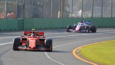 Charles Leclerc Ferrari Australian Grand Prix qualifying