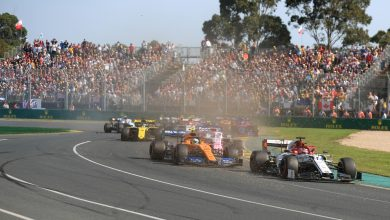 Australian Grand Prix Results
