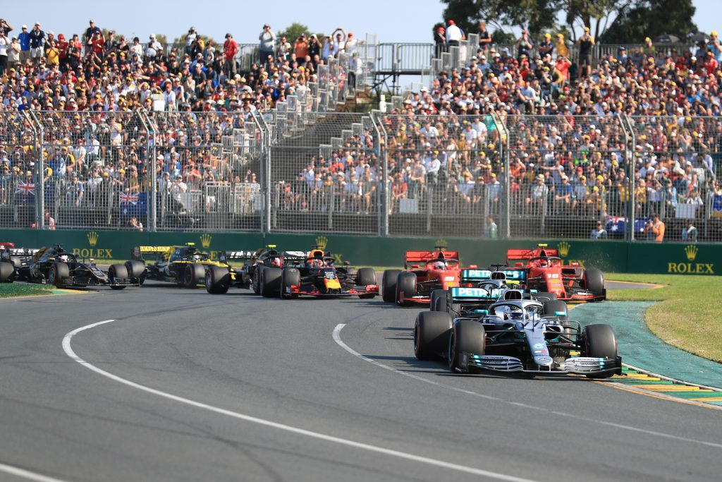 Bottas Australian Grand Prix Mercedes