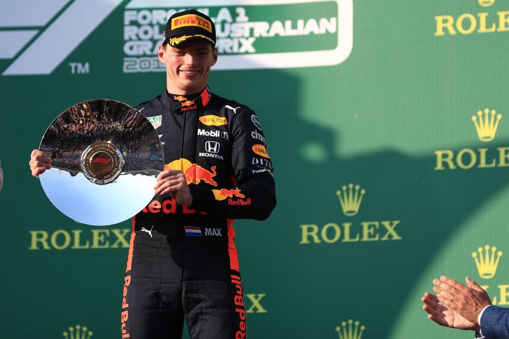 Max Verstappen Red Bull Racing Australian Grand Prix