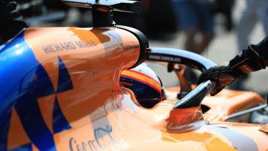 McLaren Carlos Sainz Australian Grand Prix