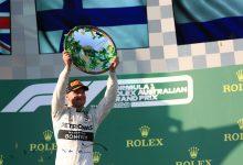 Valtteri Bottas Australian Grand Prix 2019 Mercedes