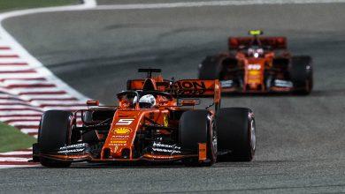 Bahrain F1 Formula One Ferrari Vettel