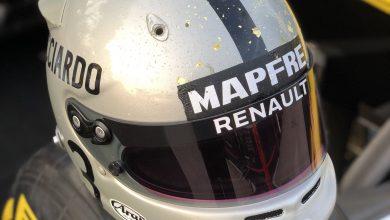 Helmet Renault F1 1000 Grand Prix