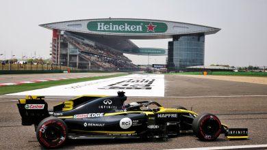 Ricciardo Chinese Grand Prix Practice
