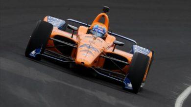 Fernando Alonso McLaren Indy 500 Opening Practice