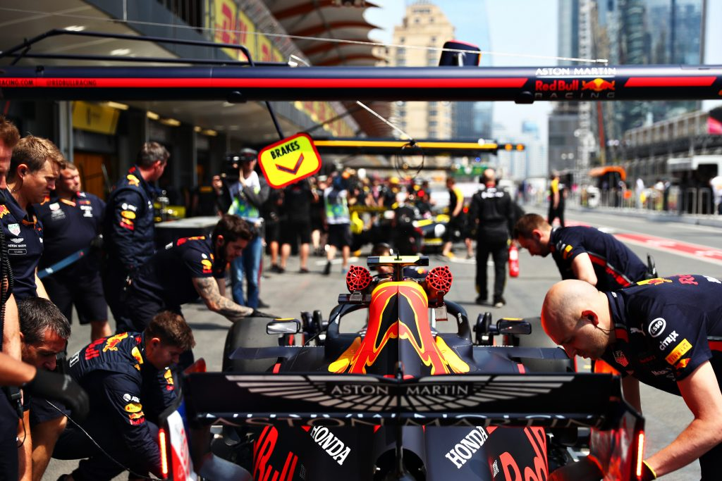 Pierre gasly Red Bull Racing Azerbaijan Grand Prix