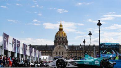 Tom Dillmann NIO Formula E Paris E-Prix
