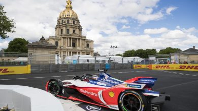 Paris E-Prix Mahindra Racing Jerome D'Ambrosio