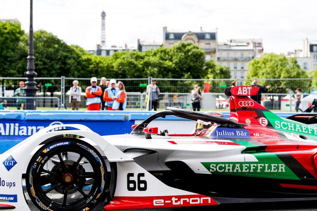 Audi Sport Paris E-Prix