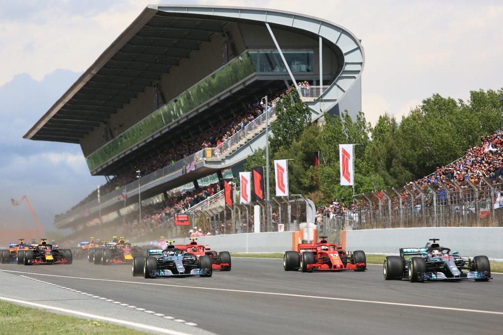 Live Spanish Grand Prix
