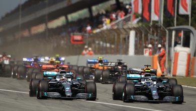 Bottas clutch Mercedes