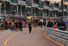 Monaco Grand Prix Practice FP1