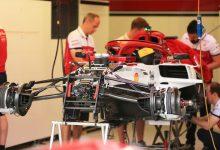 Alfa Romeo Haas Ferrari power