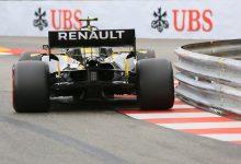 Renault Monaco Grand Prix Practice FP1