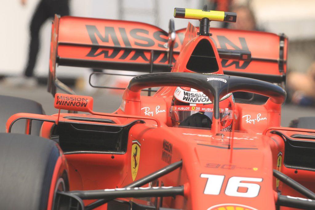 Ferrari Charles Leclerc Monaco Grand Prix