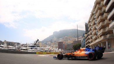 Sainz McLaren Monaco Grand Prix