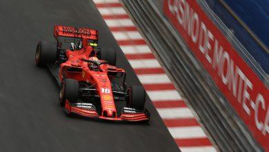 Charles Leclerc Ferrari Monaco Grand Prix Practice