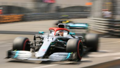 Lewis Hamilton Mercedes Qualifying Monaco Grand Prix