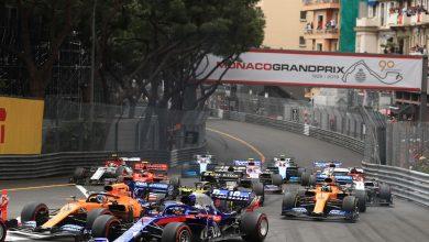 Monaco Grand Prix Start