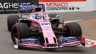 Sergio Perez Racing Point Monaco Grand Prix