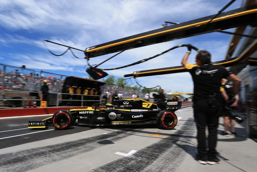 Renault Ricciardo Hulkenberg