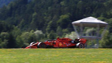 Ferrari FP3 Live austria practice