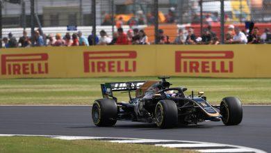 Grosjean Haas practice