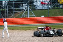 Alfa Romeo Racing Antonio Giovinazzi Formula 1 British Grand Prix mechanical