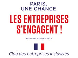 """Visitez le stand de Club """"Paris, une chance. Les entreprises s'engagent !"""""""
