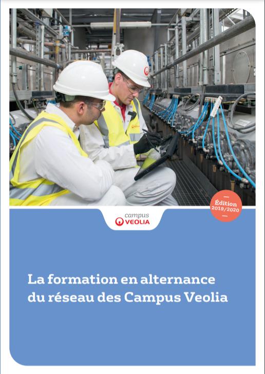 La formation en alternance du Réseau des Campus Veolia